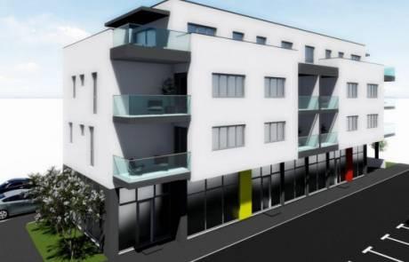 """Poslovno-stambena zgrada """"Jesenović"""""""